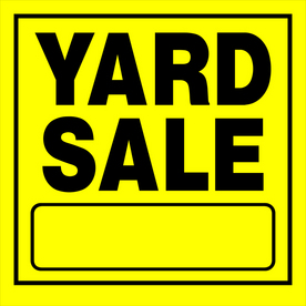 Perfect photos of yard sale  taken last month