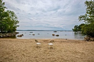 Sebago Lake access / beach at Windmere