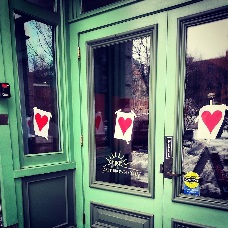 Toll Every Year On The Morning Of February 14 Since 1976 People Wake Up The City  Of Portland, ME To Thousands Of Red Hearts Taped To Doorways Throughout The  ...